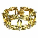Diamant Armband 750 Gold 1ct Brillanten Bracelet Italien kaufen Stephanie Bohm Exklusiver Schmuck